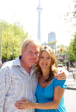 Gary and Cindy in Toronto