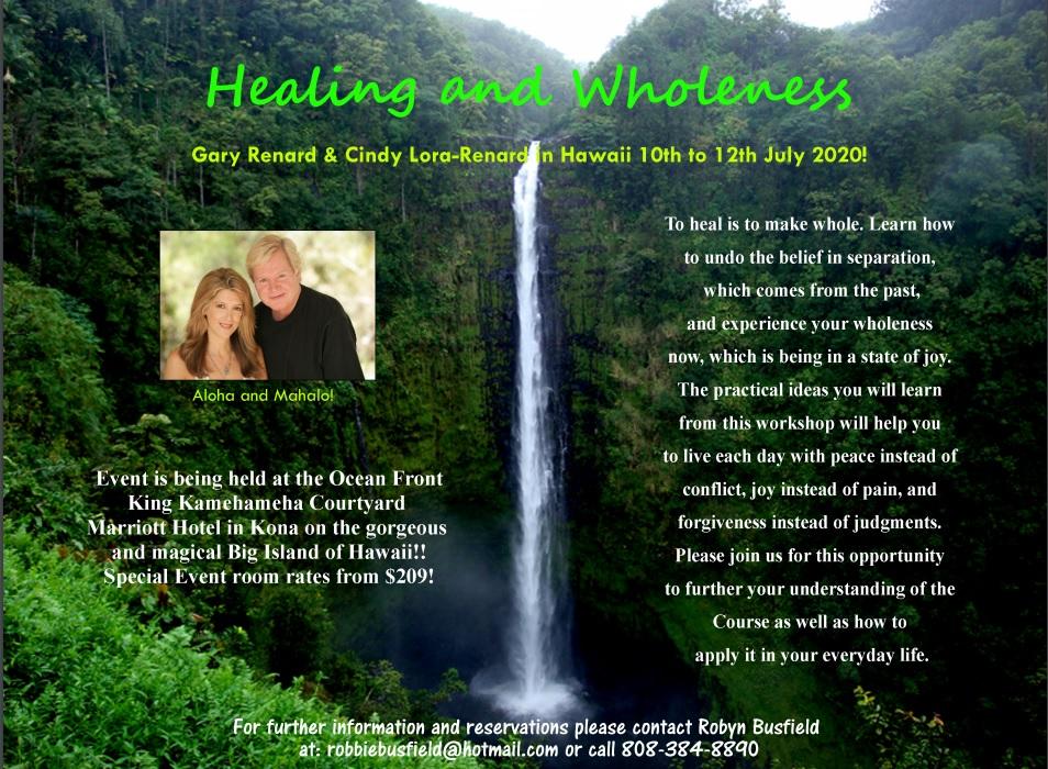 Hawaii Retreat 2020